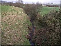 SD7813 : Stream under Brandlesholme Road by Philip Platt