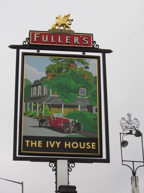 The Ivy House on the A413