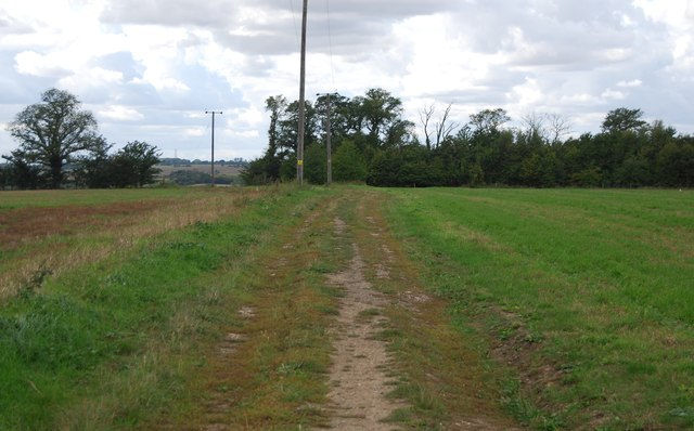 Track to Claydon