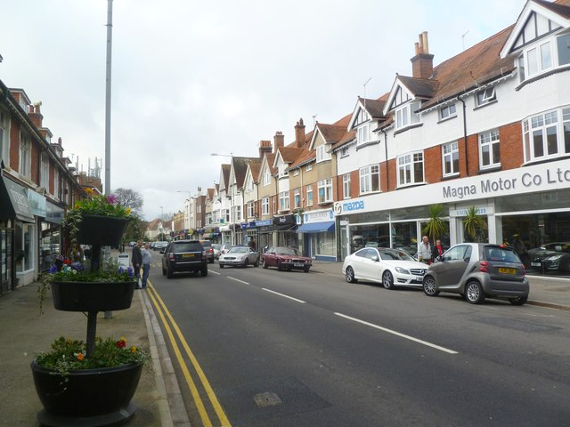 Canford Cliffs, shopping parade