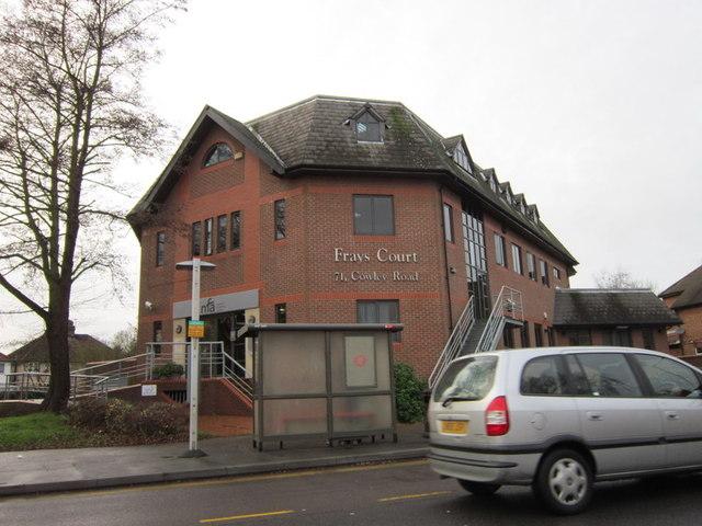 Frays Court on Cowley Road, Uxbridge