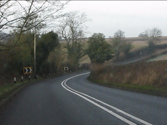 A458 west of Four Ashes