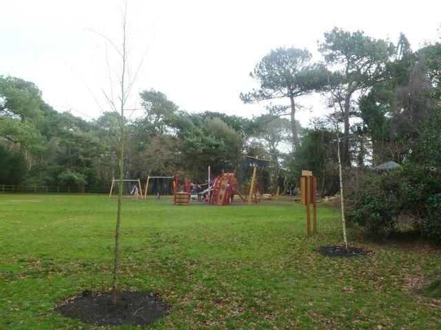 Canford Cliffs, playground