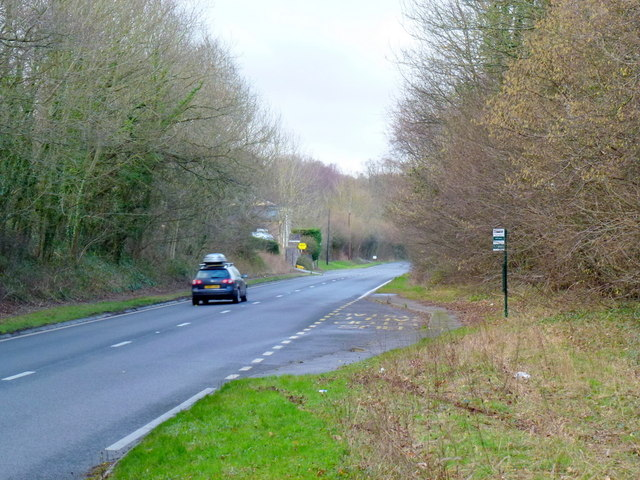 A465 at Little Goytre