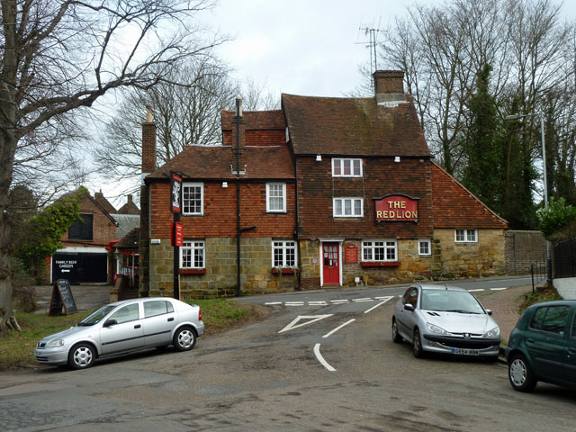 The Red Lion, Lower Green,  Rusthall