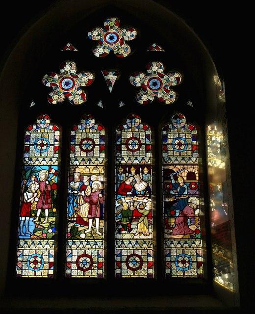Window at Leusdon church