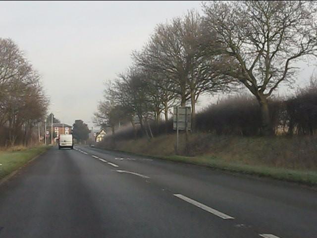 A454 approaching Wyken
