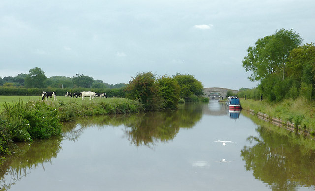 Shropshire Union Canal near Hack Green, Cheshire