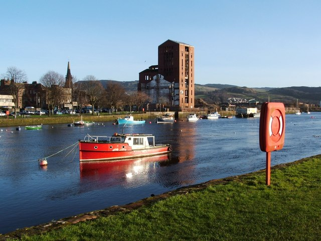 The River Leven at Dumbarton