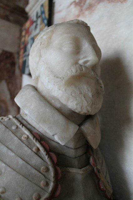 William Heneage, Memorial, St Mary's church, Hainton