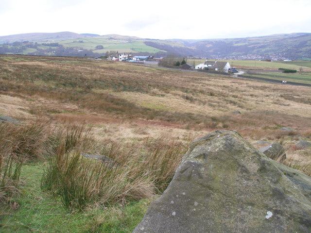 Rivet benchmark on a rock near the Shepherds Rest
