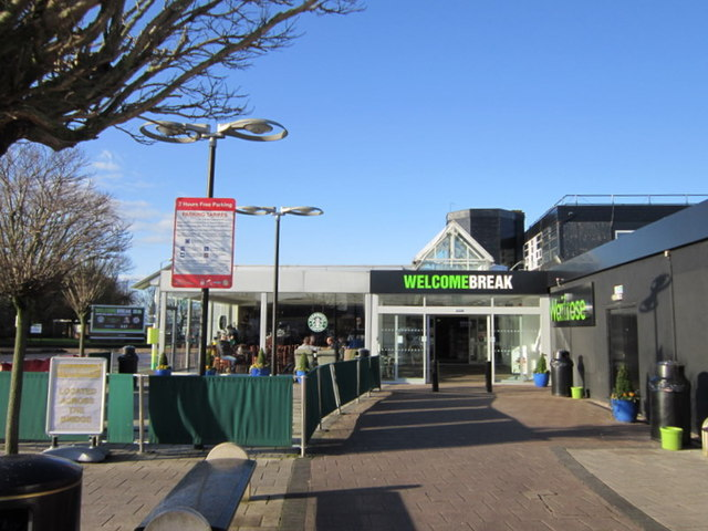 Keele Services on the M6 Northbound