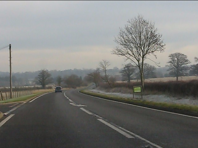 A454 near The Bungalow