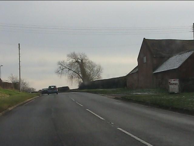 A454 at Shipley Bank Farm
