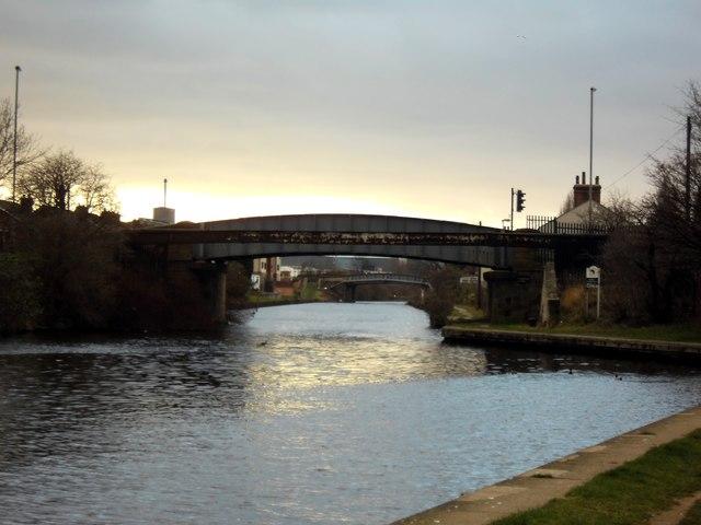 Knottingley canal bridges