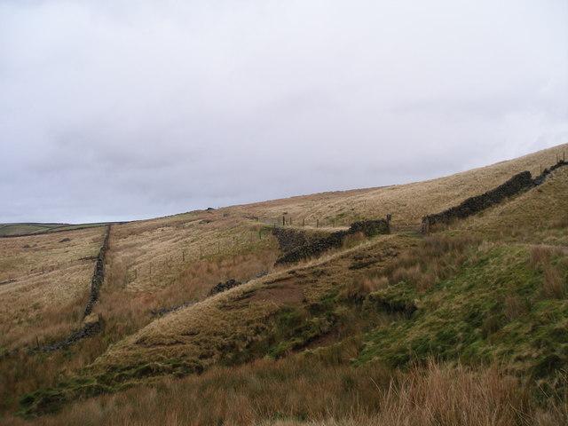 Pennine Bridleway near Dam Hey