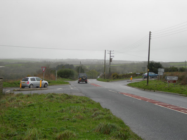 Cross Road on the A3058
