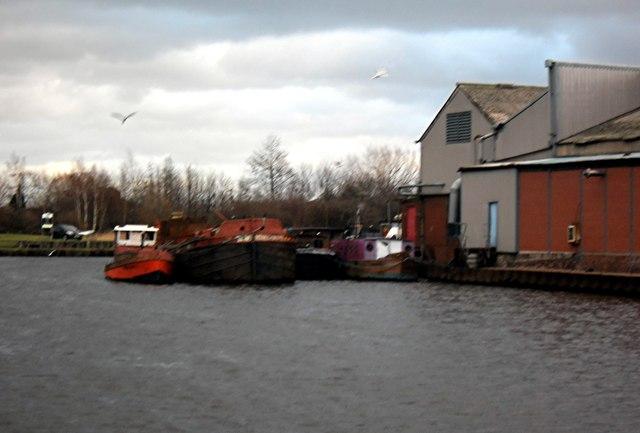 Harkers Boatyard Knottingley