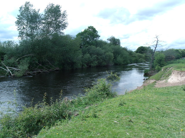 River Dee towards Overton