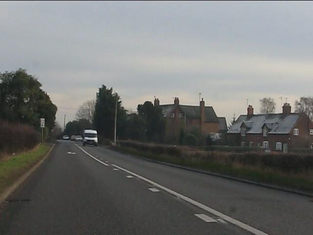 A454 enters Trescott