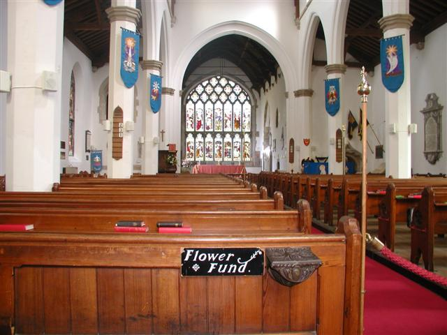 Interior, Lady St. Mary Church, Wareham
