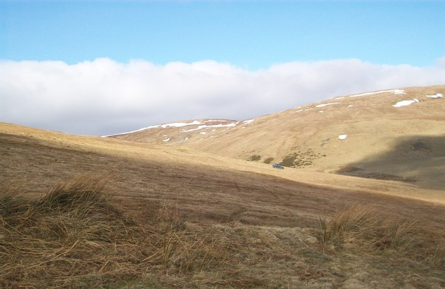 Looking towards Cwm Ffynnon