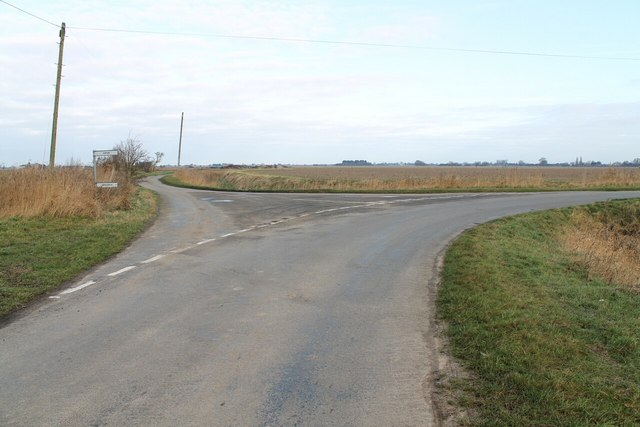 Junction off Fishmere End road