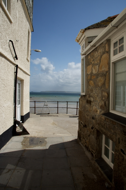 View NE off The Warren St Ives