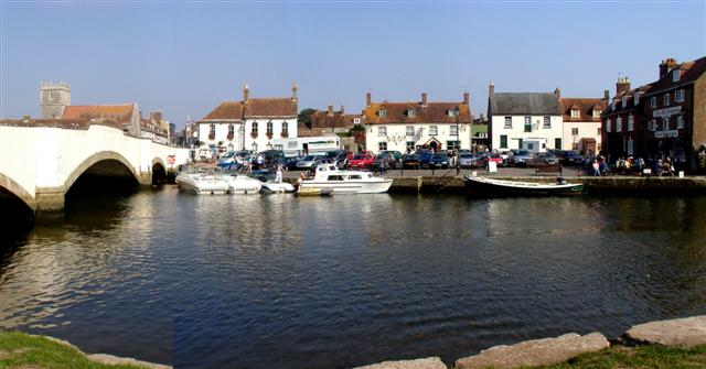 The River Frome and Wareham