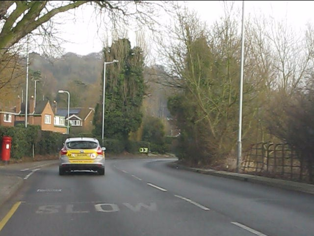 Bridgnorth Road at Firsway