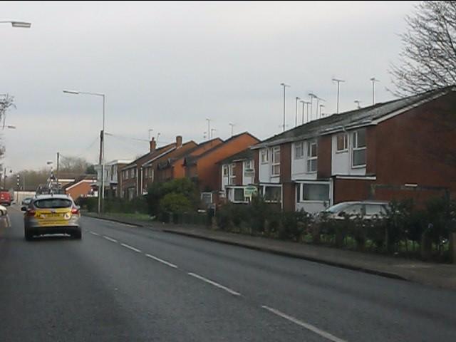 Houses on Bridgnorth Road