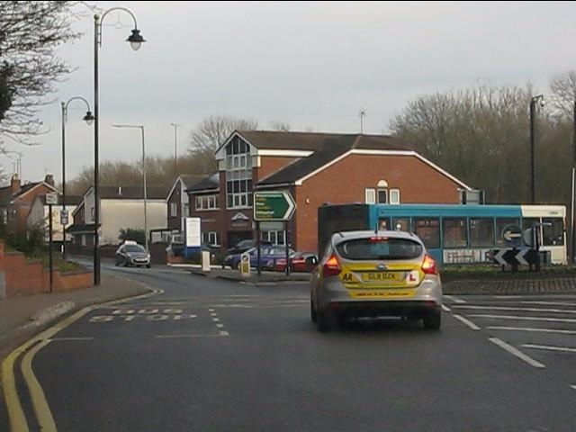 Compton roundabout, Bridgnorth Road (A454)