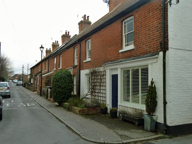 Terraced houses, Church Road