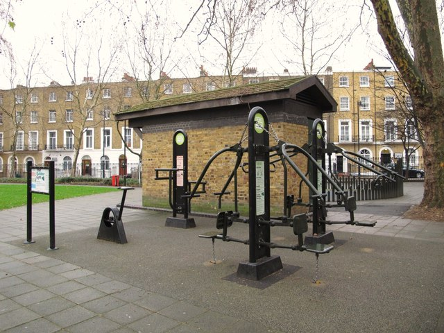 Your Outdoor Gym, Argyle Square, WC1