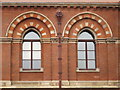 TQ3083 : The east side of (the old part of) St. Pancras Station - detail by Mike Quinn