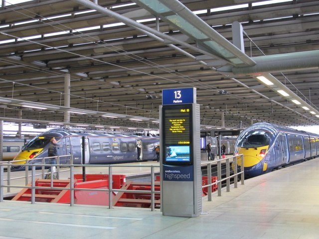 southeastern high speed platforms, St. Pancras International