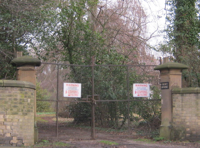 Eastern entrance to Croft House at Hurworth Place