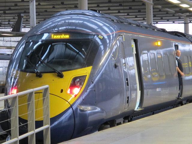 southeastern high speed train (Class 395), St. Pancras International