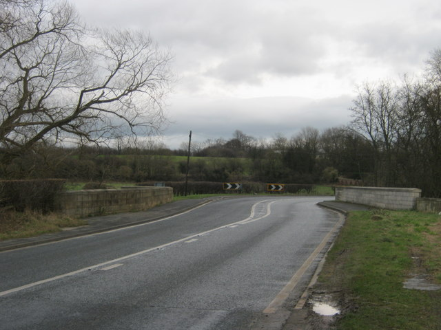 Oxneyfield Bridge over the River Skerne