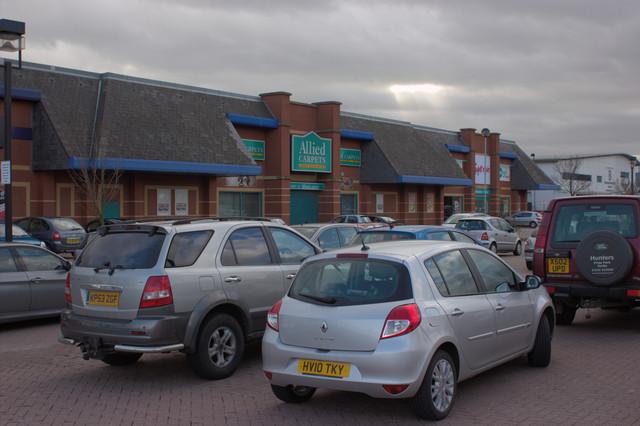 Centrum East Retail Park, Branston