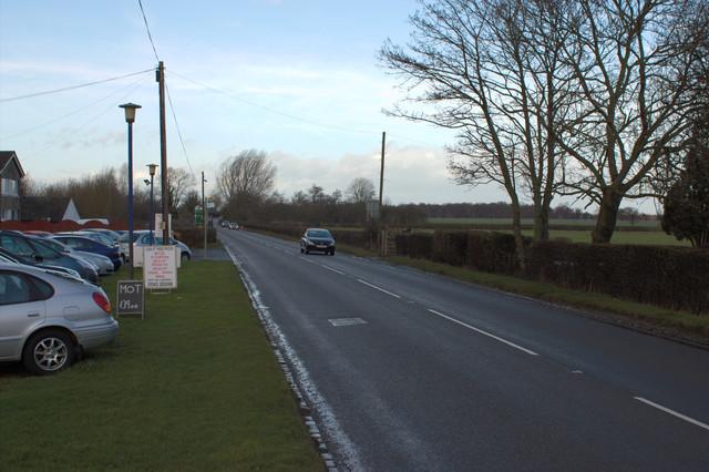 A615 near Elmhurst