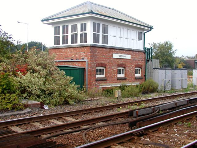 Signal box, Wareham