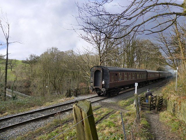 East Lancashire Railway, Chest Wheel Crossing