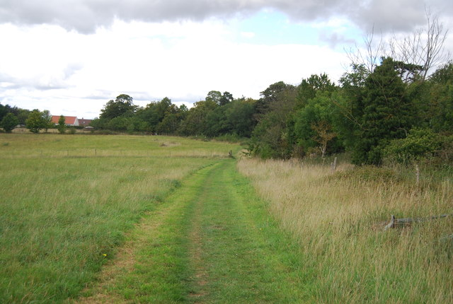 Footpath to Claydon Church
