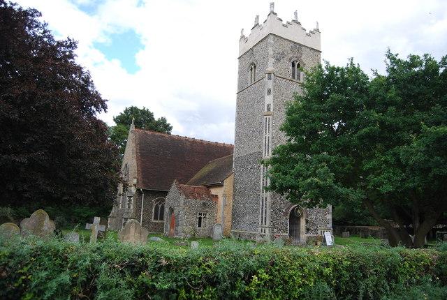 Church of St Peter, Claydon