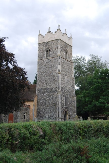 Tower, Church of St Peter, Claydon