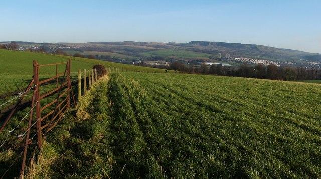 Fields near Dalmoak