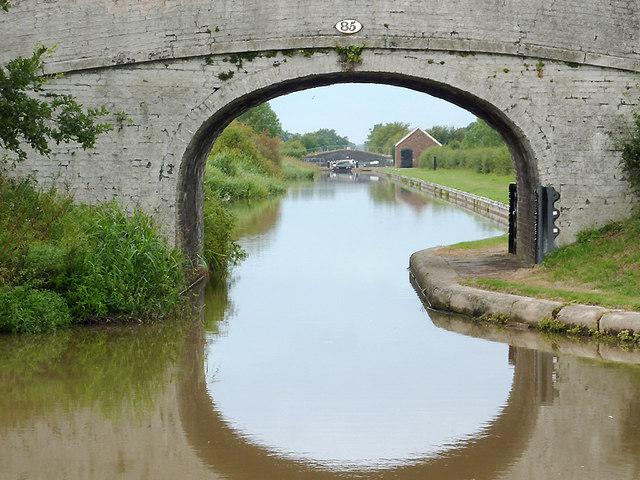 Burrow's Bridge near Hack Green, Cheshire