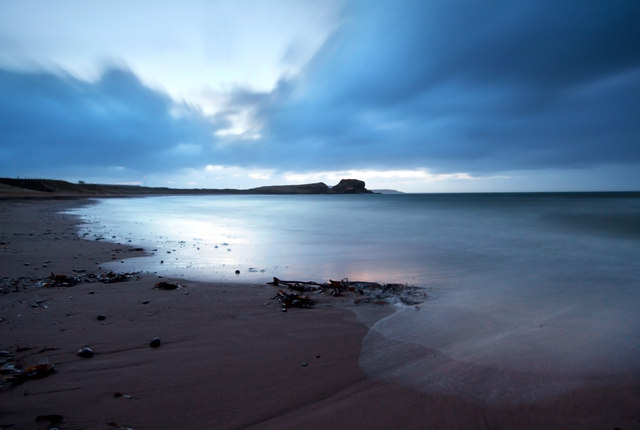 Dunaverty Bay at First Light