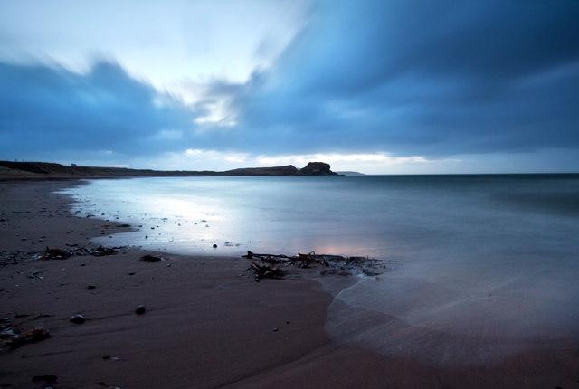 Dunaverty Bay at First Light